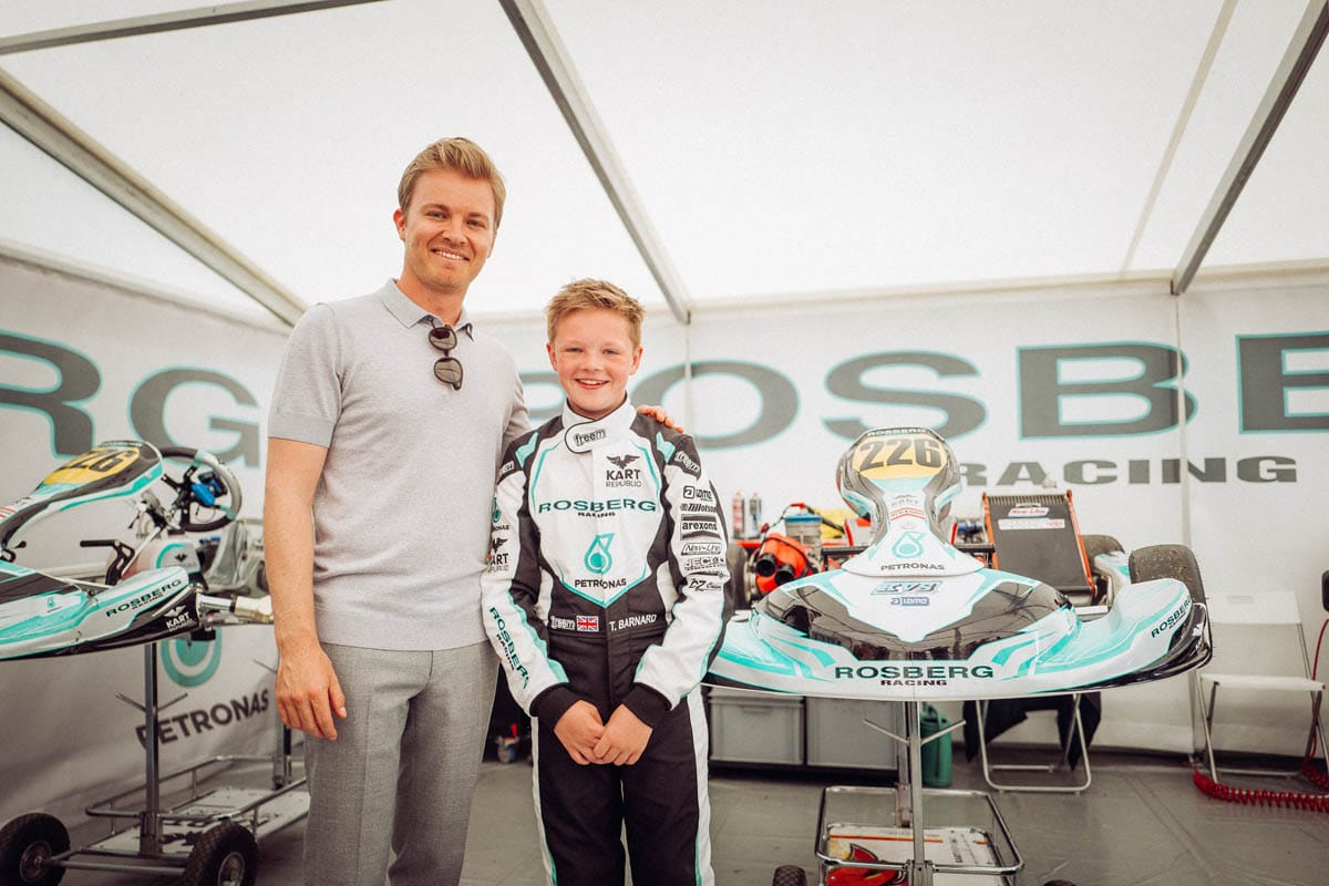 PETRONAS supports budding talents through  the Rosberg Young Drivers Academy