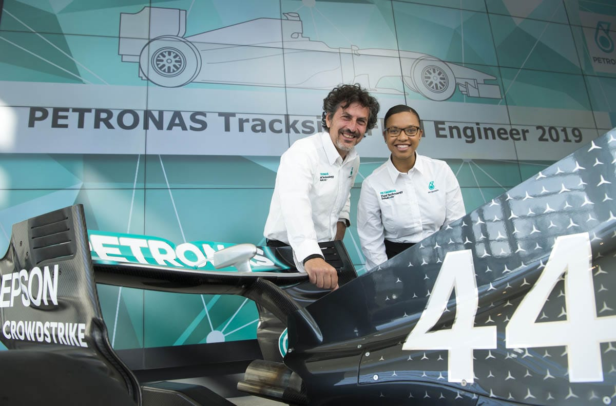PETRONAS introduces new Trackside Fluid Engineer to Formula 1