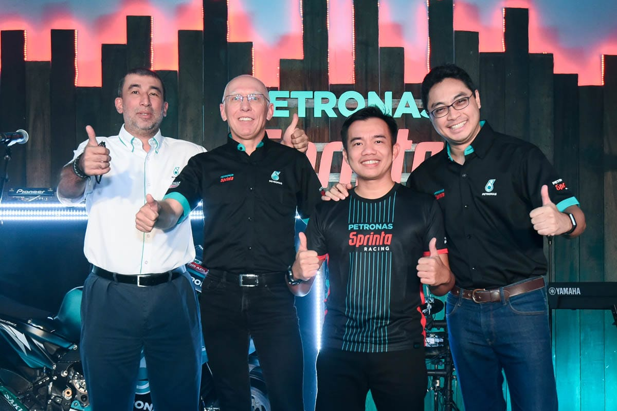 PETRONAS showcases the new range of  PETRONAS Sprinta with UltraFlex™ technology